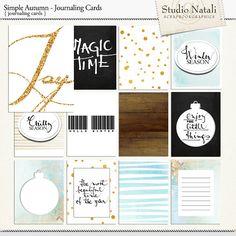 Hello Winter Journal Cards