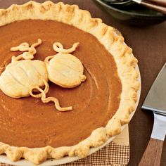 To create a crisp crust on the bottom, Grace Parisi partially bakes the pie shell before adding the filling. If the edge starts to darken too much, co...