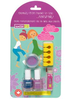 Suncoat Girl - Head to Toe 5 Piece Play Makeup Kit