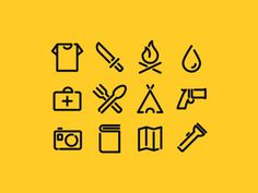 icons Minimal Icon Inspiration from Dribbble