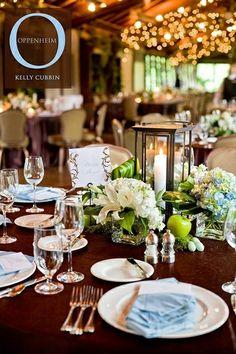 Centerpiece, lanterns   Wedding Ceremony and Reception Ideas
