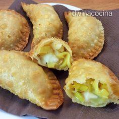 Empanadillas de puerros y queso < Divina Cocina