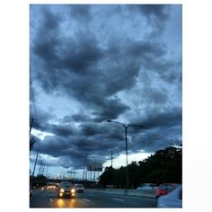 #runaway from the #dark #clouds #rainy #season #sky #roadtrip #drive T.G.I.F. #philippines #空 #雲 #フィリピン #雨季 #ドライブ #金曜日