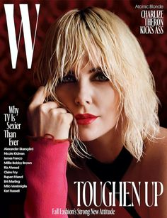 W for wonderful for Charlize