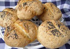W Mojej Kuchni Lubię.. : chrupiące bułki pszenno-grahamkowe z czarnuszką......