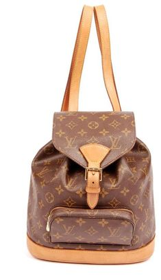 Louis Vuitton Montsouris Backpack Very Nice 5357 (Authentic Pre-owned) 33ed27b6fd5c5