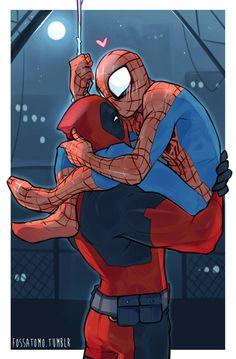 Spiderman X Deadpool.
