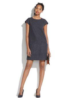 wool a-line dress