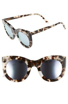 Illesteva+'Boca'+47mm+Round+Sunglasses+available+at+#Nordstrom