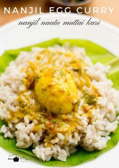 Perfect egg curry recipe to be served with rice. With step by step pictures. Egg Recipes Indian, Veg Recipes Of India, Indian Dishes, Ethnic Recipes, Kerala Recipes, Curry Recipes, Vegetarian Recipes, Cooking Recipes, Rice Recipes