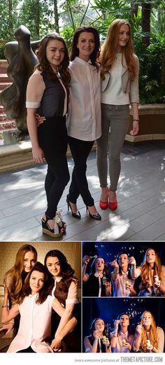 Ladies of the Stark House…