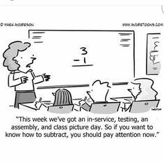 Teacher Lounge Humor added a new photo. Teacher Comics, Teacher Humour, Teacher Cartoon, School Cartoon, Teacher Stuff, Teacher Sayings, Math Comics, Math Teacher, Math Jokes
