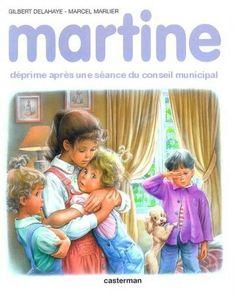 Martine déprime après une séance du conseil municipal