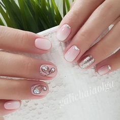 Techniques for Spring Nail Art - Best Trend Fashion - Spring Nail Art 2018 Cute Spring Nail Designs Ideas Best Picture For spring nails ideas For Y - Short Nail Designs, Best Nail Art Designs, Nail Designs Spring, Butterfly Nail Designs, Spring Design, Cute Spring Nails, Spring Nail Art, Summer Nails, Great Nails