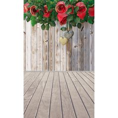 Valentine's Day Vinyl Photography Backdrops Board and rose Customized Computer Printed Background Love valentine 5X8ft  F-1944