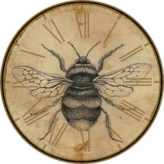 Free Printables: Vintage Bees Keeping Time Bountiful Heirlooms: Free Printables: Vintage Bees Keeping Time The post Free Printables: Vintage Bees Keeping Time & Vintage appeared first on Free . Vintage Bee, Vintage Labels, Vintage Ephemera, Vintage Prints, Bee Crafts, Paper Crafts, Printable Art, Free Printables, Etiquette Vintage