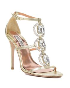 Harvey-II Embellished T-strap Heel by Badgley Mischka