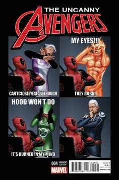 Uncanny Avengers #4 (2016) variant cover by John Tyler Christopher