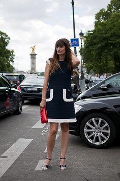 Caroline de Maigret in Chanel