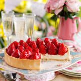 No tea party would be complete without a scrumptious strawberry tart as the centrepiece.