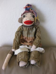 Sock Monkey Miso~  Peng Peng Sock Monkey~