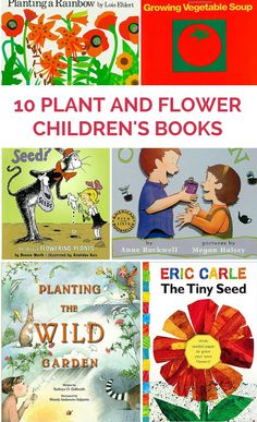 10 Children's Books All About Plants and Flowers