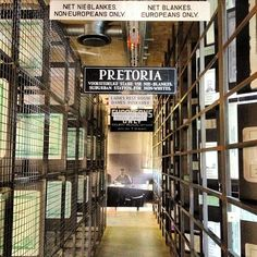 Apartheid Museum, Johannesburg -- the non-white entrance. #SouthAfrica