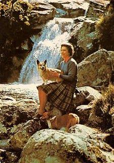 Follow the Piper: Queen Elizabeth and Her Corgis