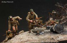 D-DAY diorama