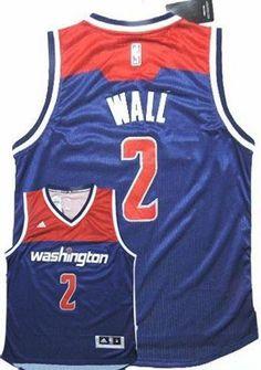 Wizards 2 John Wall Navy Blue Alternate Stitched NBA Jersey 443a66127