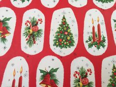 Vintage Christmas Gift Wrapping Paper  Mod by TheGOOSEandTheHOUND