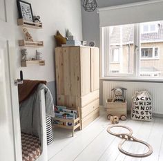 And it looks very promising indeed! ☀️🤞🏻Have a wonderful weekend y'all! 📷 Love this nursery over at thanks for the tag! Baby Bedroom, Nursery Room, Kids Bedroom, Nursery Design, Kid Spaces, Kidsroom, Kids Decor, Room Inspiration, Room Decor