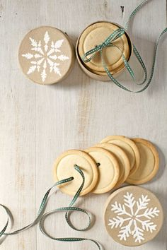 Sugar-Cookie Buttons  - CountryLiving.com