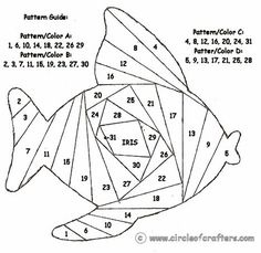 Fishy :) - I wonder if I can use these patterns in wirework? Maybe with seed beads?: