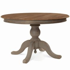 Farmhouse Round Dining Table 120cm - Any Colour - Furniture: DINING - Dining Table