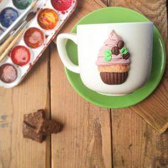 Купить Кружки и чашки ручной работы или заказать в интернет-магазине на Ярмарке Мастеров, Посуда