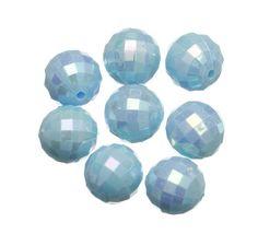 Acrylic Plastic, Acrylic Beads, Charm Jewelry, Charms, Sea, Blue, Ocean