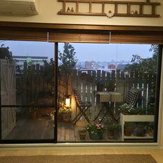 IKEA/DIYフェンス/DIYウッドデッキ/DIY/ベランダガーデン/VG…などのインテリア実例 - 2015-03-16 17:42:59 | RoomClip(ルームクリップ)