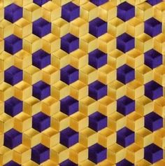 purple and gold triaxial weaving