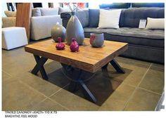 ΤΡΑΠΕΖΑΚΙ σαλονιού 120 80 , καπακι αναγλυφος βακελιτης ξυλου ,ποδια μασιφ οξια. Καινουργιο στο κουτι του, τιμή 200€ Decor, Furniture, Table, Home Decor, Coffee Table