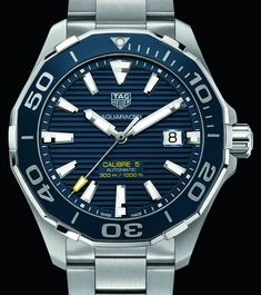 """Updated TAG Heuer Aquaracer 300M & Full-Ceramic Aquaracer Lady 300M Watches - by Zen Love - on aBlogtoWatch.com """"For Baselworld 2016, TAG Heuer adds two millimeters to last year's well-received Aquaracer 300M collection, along with introducing some ceramic Aquaracer Lady 300M watches. The 2015 TAG Heuer Aquaracer 300M models introduced a ceramic bezel and went fully modern, bold, and sporty in design and the new-for-2016 TAG Heuer Aquaracer 300M watches take it a step further..."""""""