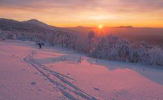 Catch the sun by Marat Akhmetvaleev (Ural Mountains, Russia)