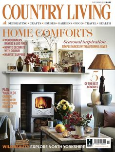 Country Living magazine November 2015 cover countryliving.co.uk