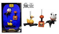 Nightmare Before Christmas Ornaments Jacks Scary Toys | eBay