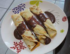 Aprenda a preparar a receita de Panqueca doce