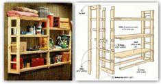 DIY Utility Shelf - Furniture Plans and Projects | WoodArchivist.com
