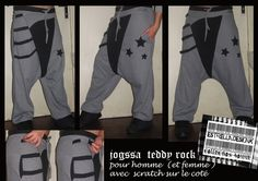 jogging sarouel créateur hiver mixte femme ou homme : Pantalons, jeans, shorts par estrelladesignk