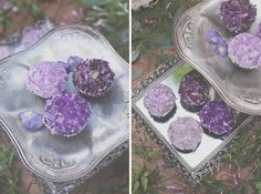 How to Throw a Rocking Geology Themed Wedding - geode and crystal cupcakes from rock candy Crystal Cupcakes, Dream Wedding, Wedding Day, Wedding Stuff, Witch Wedding, Mauve Wedding, Wedding Shit, Fantasy Wedding, Wedding 2017