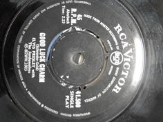 Elvis Presley,Good Luck Charm/Anything That's Part of You,RARE South Africa Pres #RocknRoll
