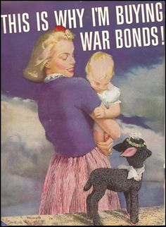 ad for favor bag. Love the decorative lamb.Sheep and bonds go hand in hand. Obviously.